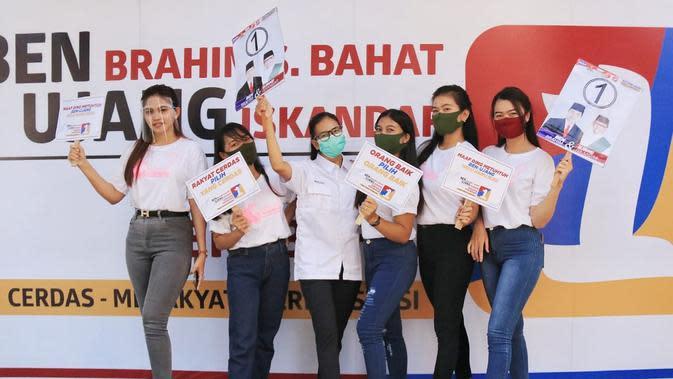Srikandi Kalteng Ajak Warga Kalteng CoblosBen-Ujang