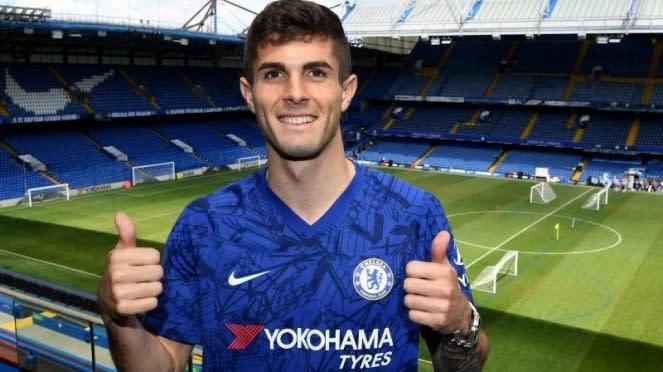 Pemain baru Chelsea, Christian Pulisic.