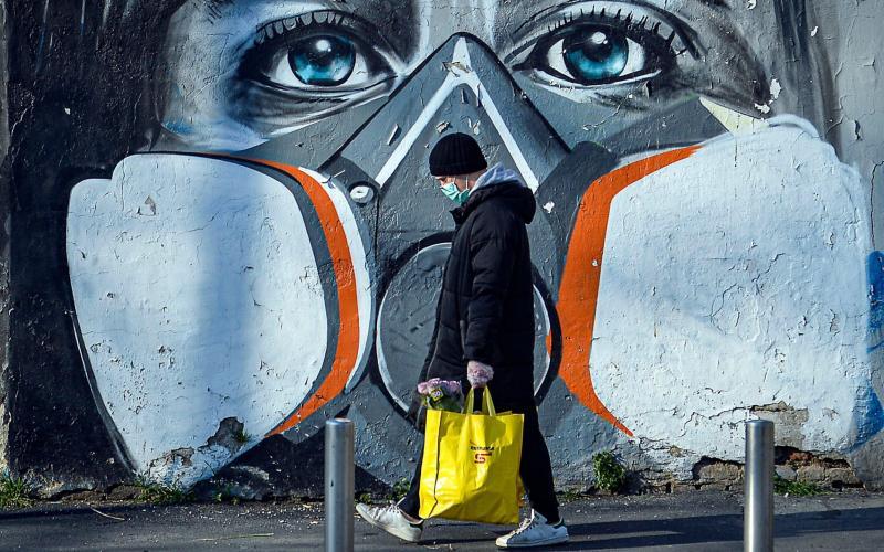 A Milan mural - Shutterstock