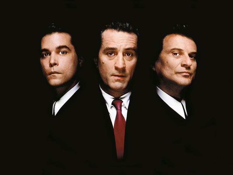 Unholy trinity: Ray Liotta, Robert De Niro and Joe Pesci in the poster artwork for 'Goodfellas' (Warner Bros)