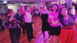 【跳舞群組】美孚君好宴會廳百人除口罩熱舞影片流出