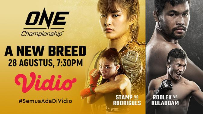 Malam Ini, Saksikan Live Streaming ONE Championship A New Breed