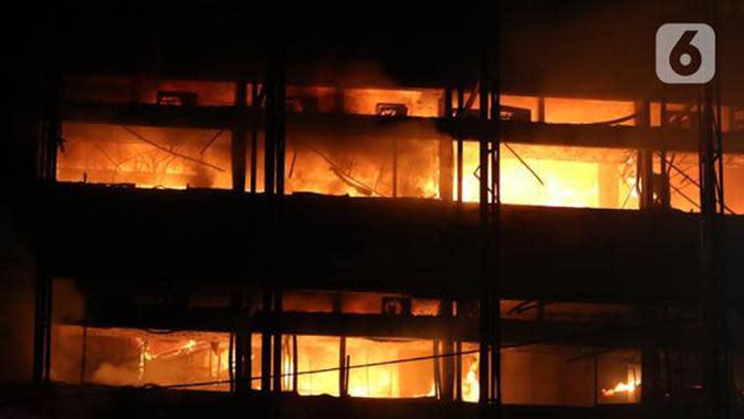 Ilustrasi kebakaran. (Liputan6.com/Herman Zakharia)