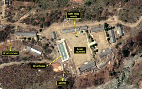 Satellite images released of North Korea's nuclear facilities prior to demolitions - Credit:  DigitalGlobe