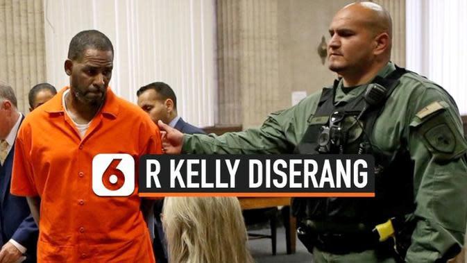 VIDEO: Penyanyi R Kelly diserang dalam Penjara