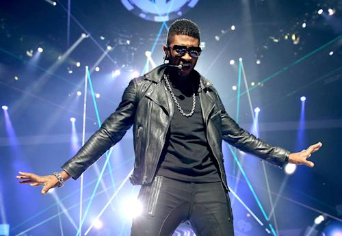 Usher Pays Homage To Michael Jackson, Belts Ballads And Inspires During iHeartRadio Set