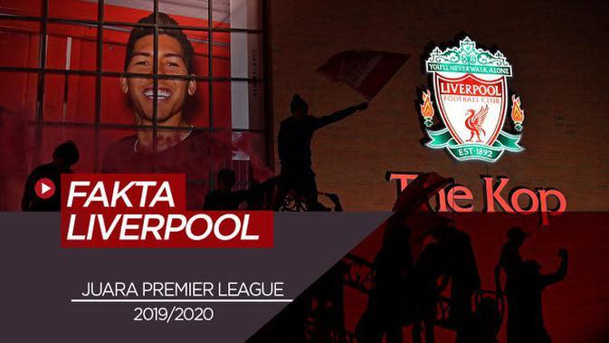 VIDEO: 4 Fakta Menarik Liverpool Juara Premier League Musim Ini