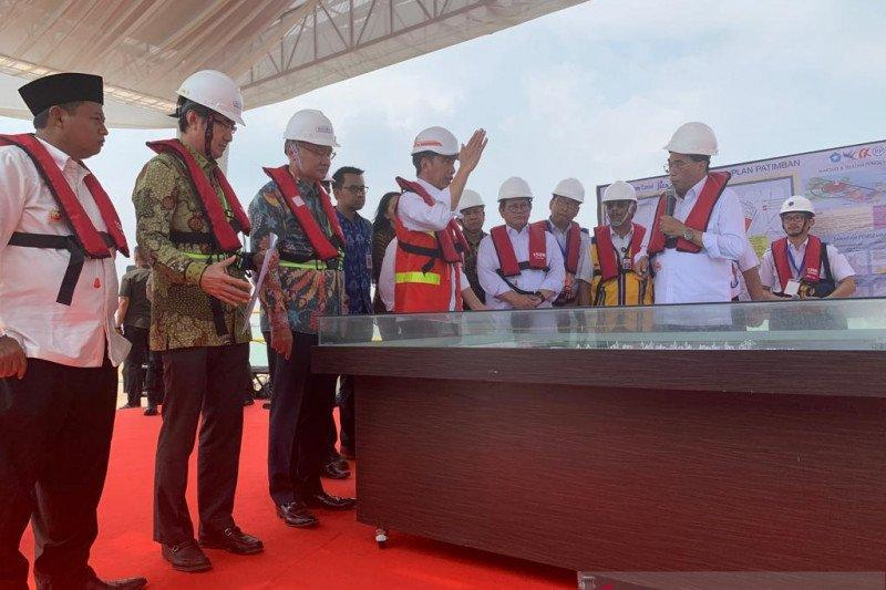 Presiden Jokowi ingin jadikan Patimban sebagai pelabuhan hub otomotif