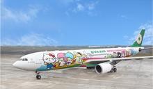 搭Hello Kitty機類出國 長榮航班開賣