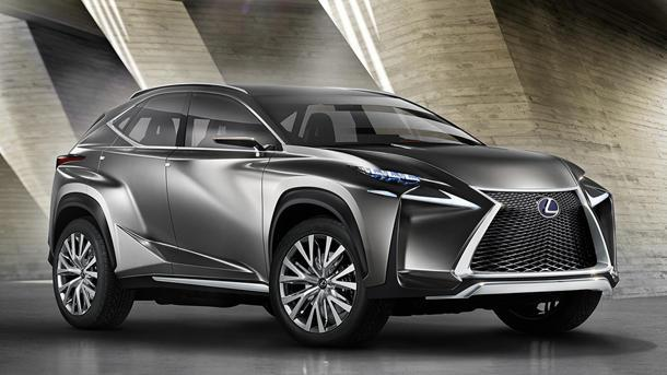 Lexus LF-NX concept previews its snarling new compact SUV