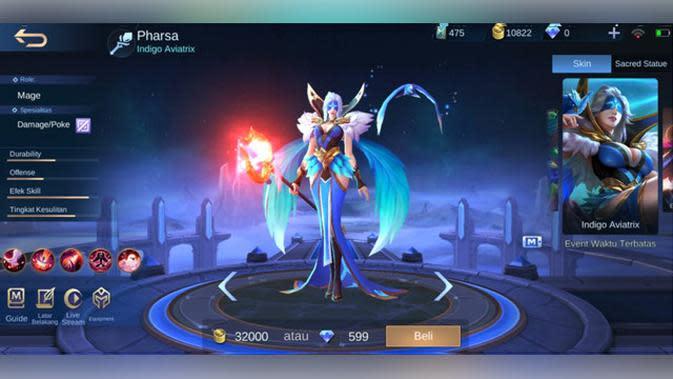 Pharsa: Indigo Aviatrix.