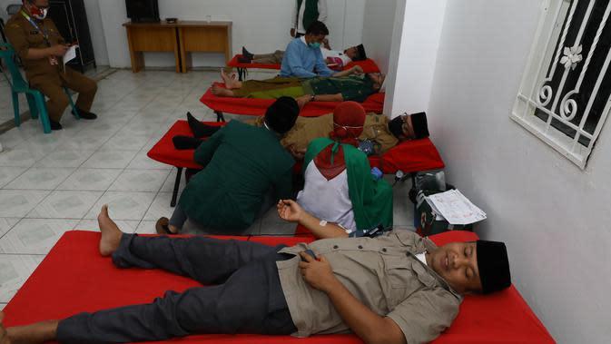 Masyarakat diimbau tidak ragu mendonorkan darahnya dengan tetap disiplin menerapkan protokol kesehatan