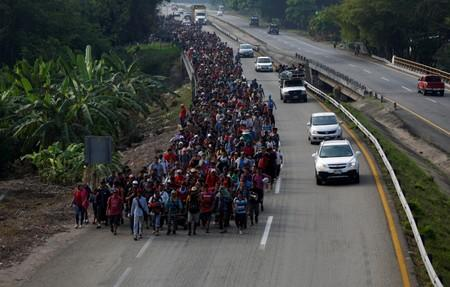 The migrant caravans: A common road toward different fates