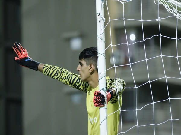 Indian goalkeeper Gurpreet Singh Sandhu (Photo/Indian Football Team Twitter)