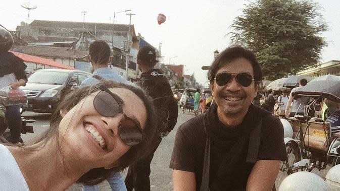 Dimas Djay dan Faradina Mufti (Sumber: Instagram/faradinamufti)
