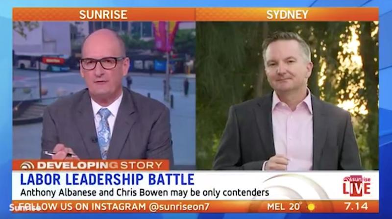 David Koch ripped into Labor leader candidate Chris Bowen on Wednesday morning.