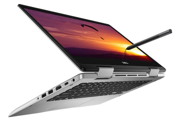 Dell Inspiron 14 5000 2-in-1 Laptop (white BG)