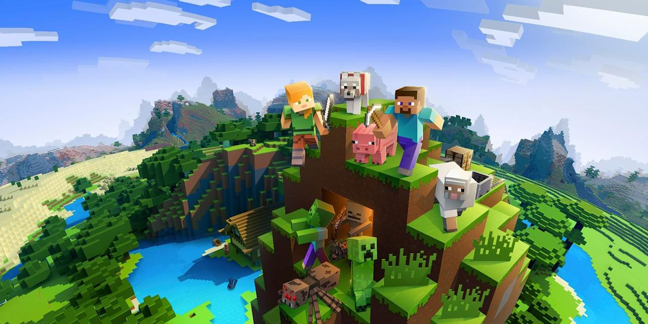 <p>Grab your gaming gang and go all in with a <em>Minecraft</em> group costume that'll let you live out the best of the virtual world IRL. Prepare to get pixelated as Alex or Steve, or dare to blow up Halloween night while dressed as the dreaded Creeper.</p>