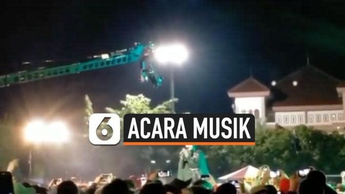 VIDEO: Ribuan Warga Hadiri Acara Musik tanpa Terapkan Protokol Kesehatan