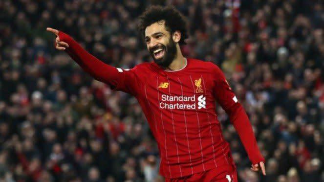 Winger Liverpool, Mohamed Salah