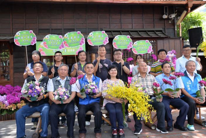 雲林故事館飄花香 縣府與虎尾農會共同振興花卉產業
