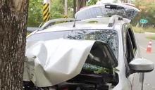 兒子駕車自撞路樹受傷 母親當場身亡釀悲劇