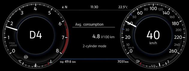 Golf的新微混合動力130ps汽油引擎油耗可媲美柴油引擎!?