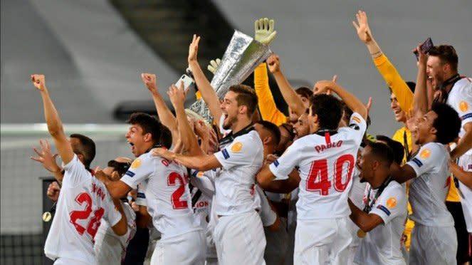 Sevilla juara Liga Europa 2019/2020.