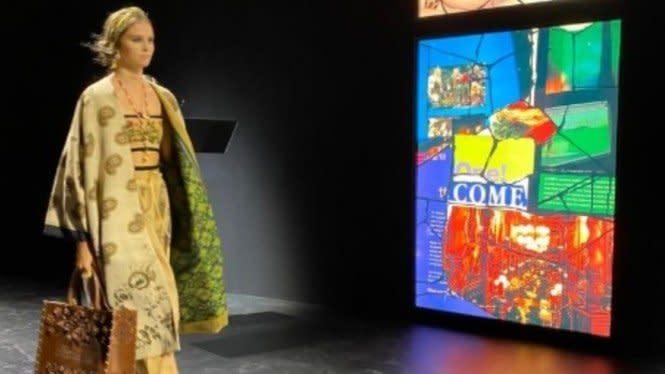 Alasan Dior Pilih Kain Endek Bali Ditampilkan di Paris Fashion Week