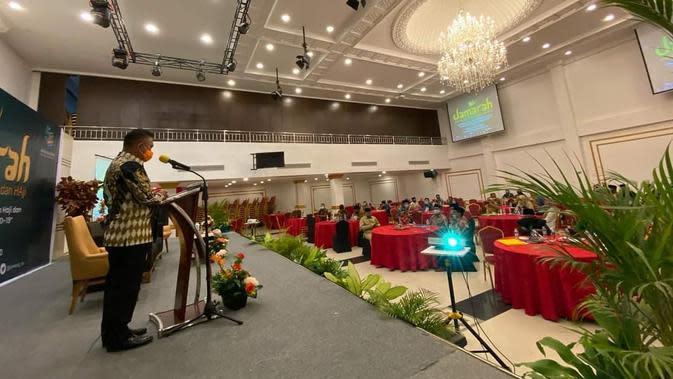 Pembukaan Jagong Masalah Umrah dan Haji (Jamarah), Senin (28/9).