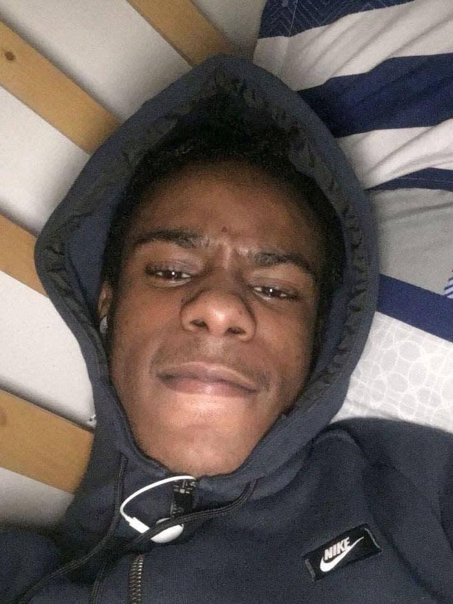 Moscow17 rapper Rhyhiem Ainsworth Barton, 17, was shot dead in south London in May (PA)