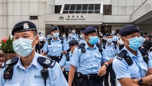 《施政報告》林鄭月娥:特區政府將積極推展23條本地立法