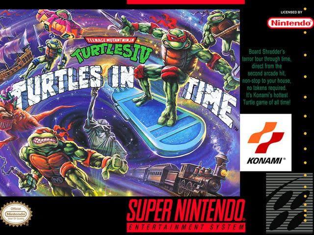 best snes games turtles in time