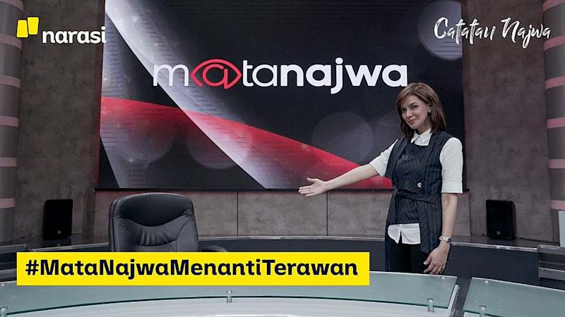 Najwa reveals she had extended multiple invitations to Terawan to appear on the show but was ignored. — Picture courtesy of Twitter/MataNajwa
