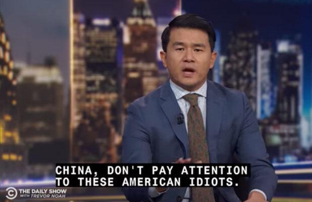 'The Daily Show' Correspondent Ronny Chieng Aptly Parodies Corporate America's Deference to China (Video)
