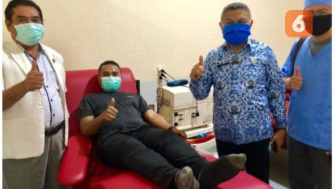 6 Pasien Sembuh Covid-19 di NTT Donorkan Plasma Darah