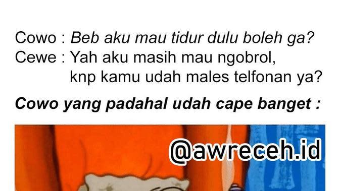 Meme Bucin (Sumber: Instagram/awreceh.id)