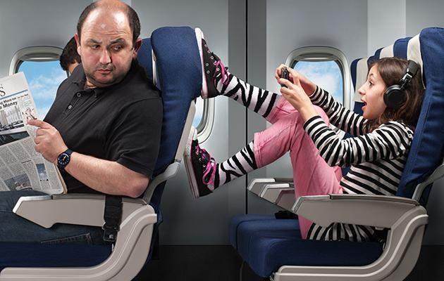 Cabin crew have to deal with a whole variety of rude passengers.