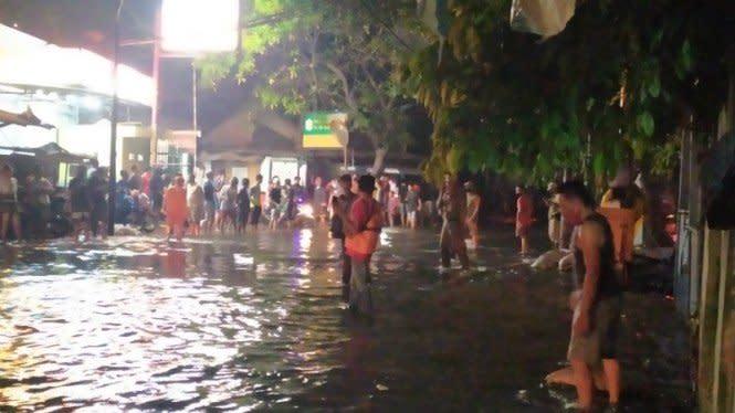 Tiga Kelurahan di Jakarta Utara Terdampak Banjir Rob