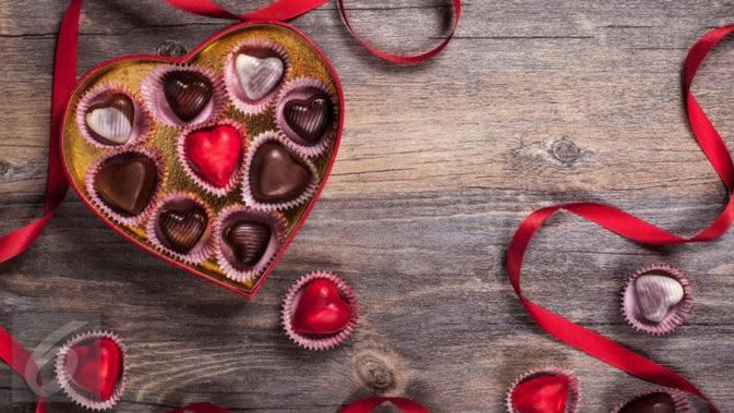 Cokelat jadi kado Valentine (iStockPhoto)