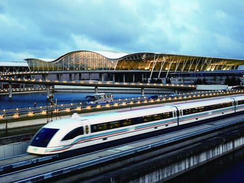 上海浦東機場——磁浮地鐵