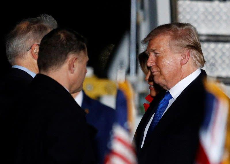 Trump serang sejumlah sekutu AS dengan kebijakan perdagangan menyakitkan