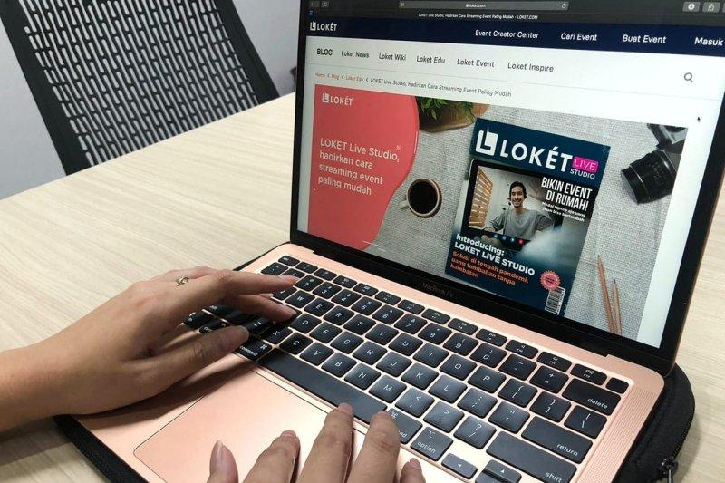 LOKET Live Studio mudahkan kreator konten buat event online