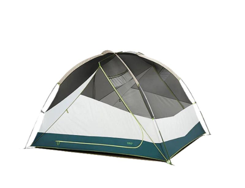 Kelty Trail Ridge 4 Person Tent With Footprint. Image via Sport Chek.
