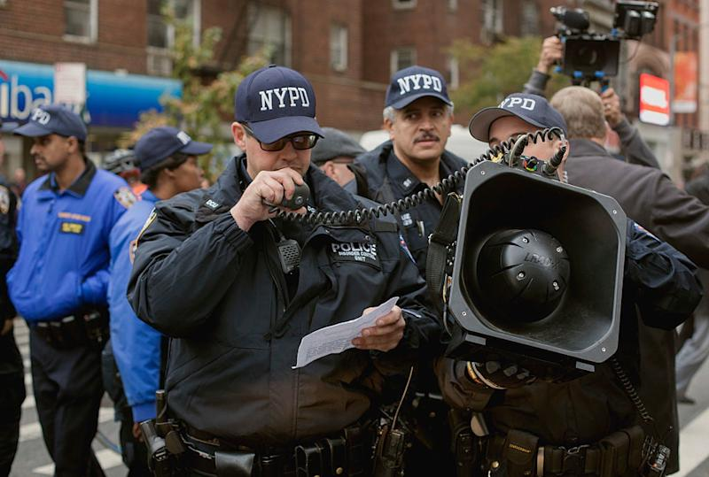NYPD using an LRAD