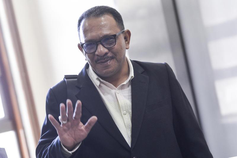 Datuk Khairuddin Tarmizi is seen at the Kuala Lumpur High Court December 10, 2019. — Picture by Miera Zulyana