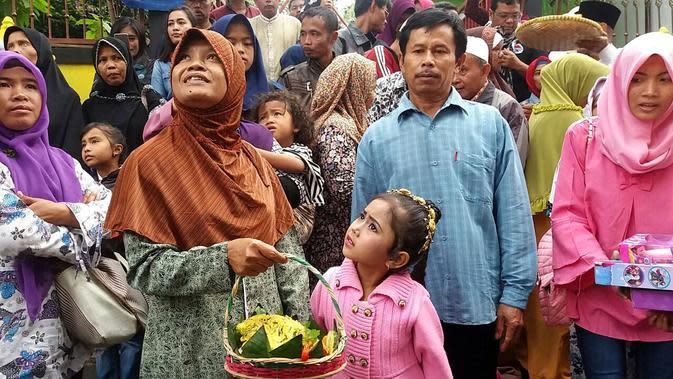 Bocah gimbal di Dataran Tinggi Dieng, Jawa Tengah. (Foto: Liputan6.com/Muhamad Ridlo)