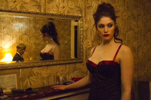 "This film image released by IFC Films shows Gemma Arterton in a scene from ""Byzantium."" (AP Photo/IFC Films, Patrick Redmond)"