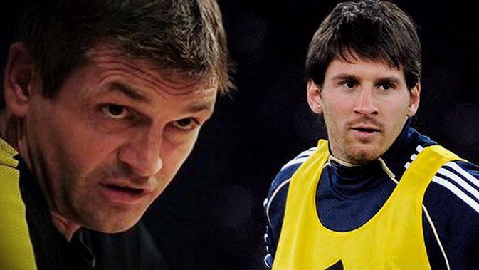 Lionel Messi dan Tito Vinalova