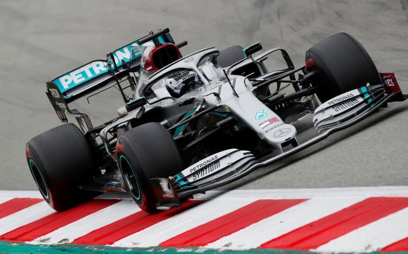 Mercedes head for Australia as top team in F1 testing
